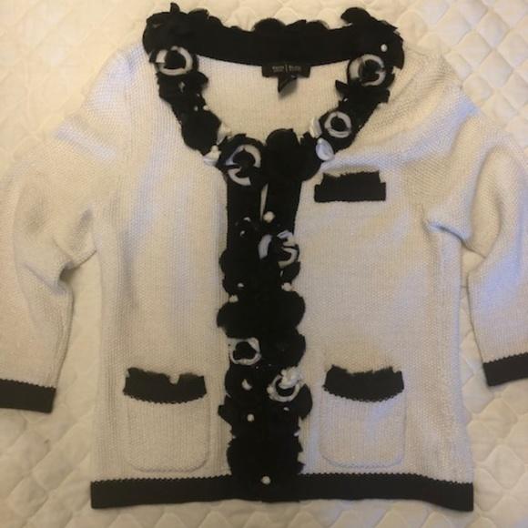 White House Black Market Sweaters - White House Black Market Knit Sweater